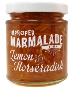 Lemon and horseradish